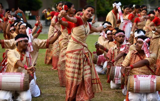 Bihu Dance Of Assam Video Free Download